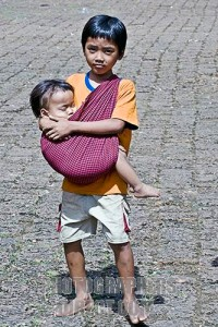 child carrying