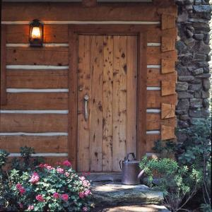 log-cabin-front-door